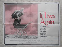 It Lives Again, Original UK Quad Poster, Frederic Forrest, Kathleen Lloyd, Classic IMAGE, '78